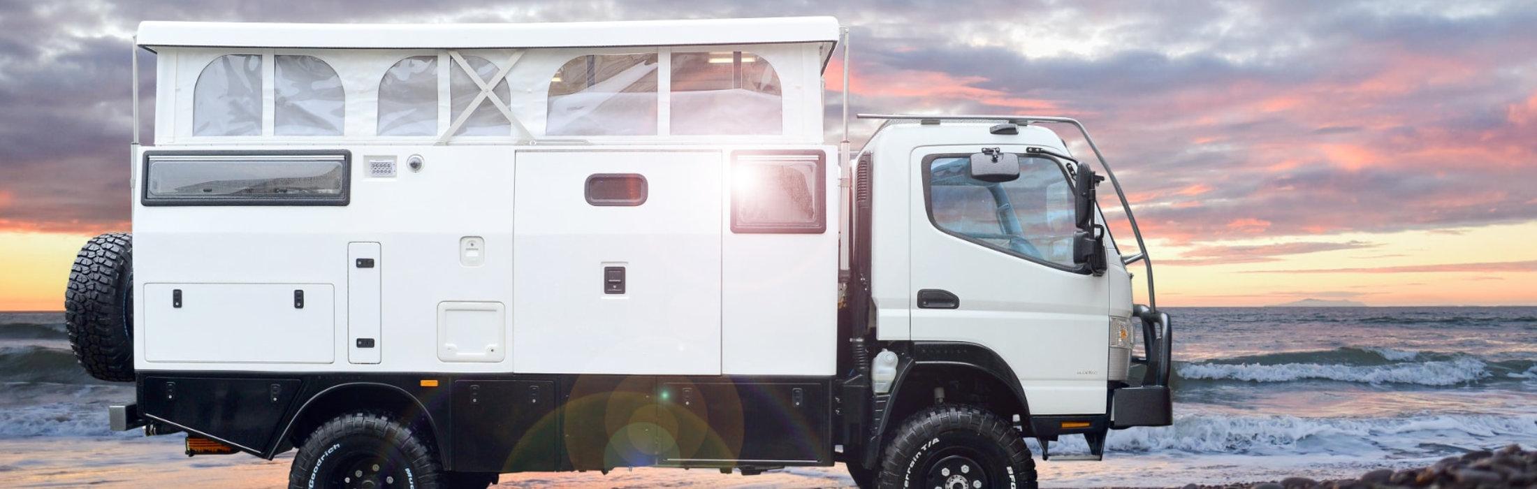 Mitsubishi Fuso Camper 4X4, auto traper, caravaning